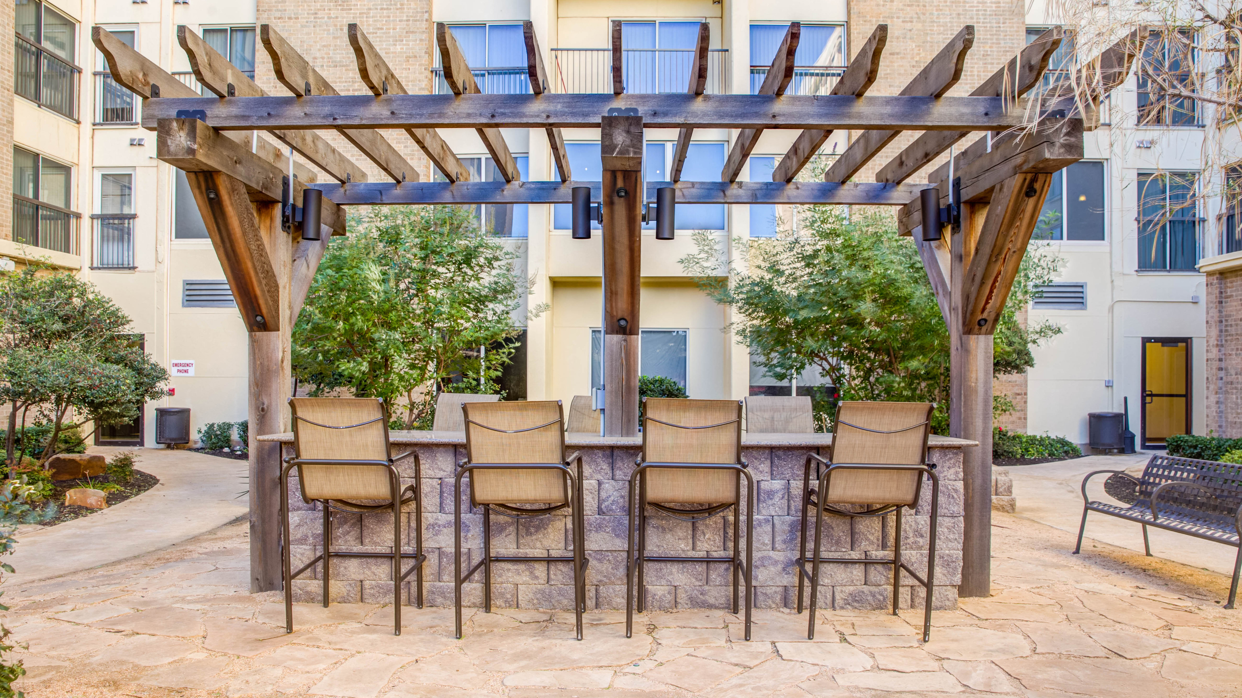 Texas Tech Courtyard