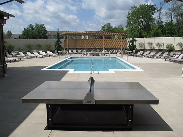 Image of Resort-Style Pool with Expansive Sun Deck for Heights at State College