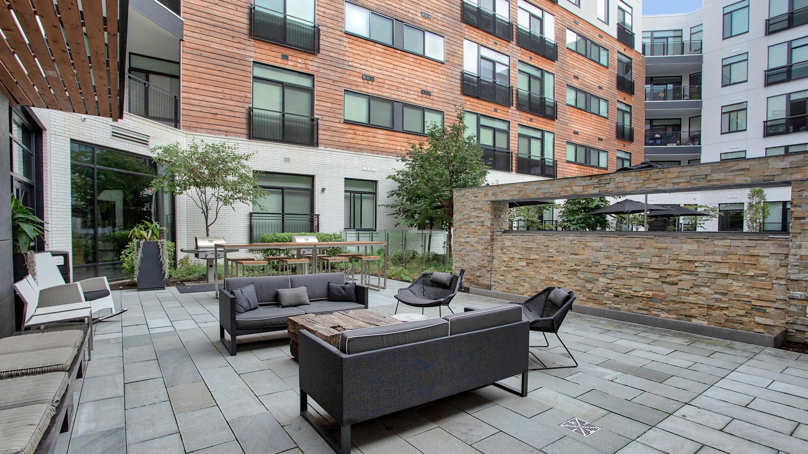 Image of Landscaped Pool Deck for Eastside Bond