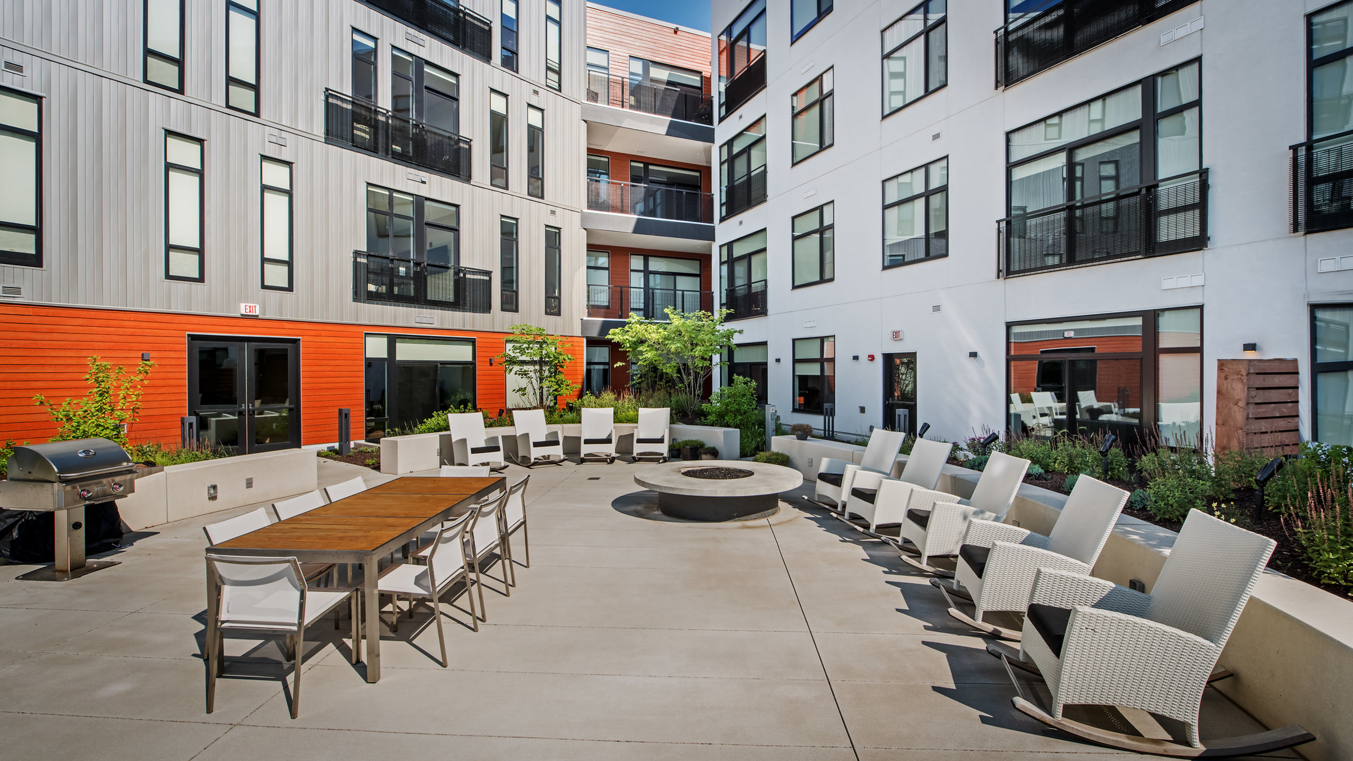 Image of Courtyard and Terraces for Eastside Bond