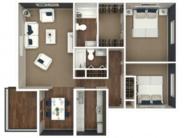 2 Bedroom | 2 Batch