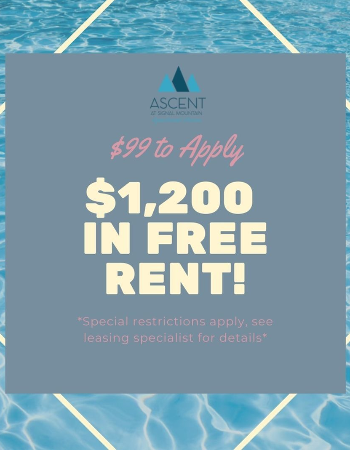 *Limited availability, see leasing specialist for details, special restrictions apply*