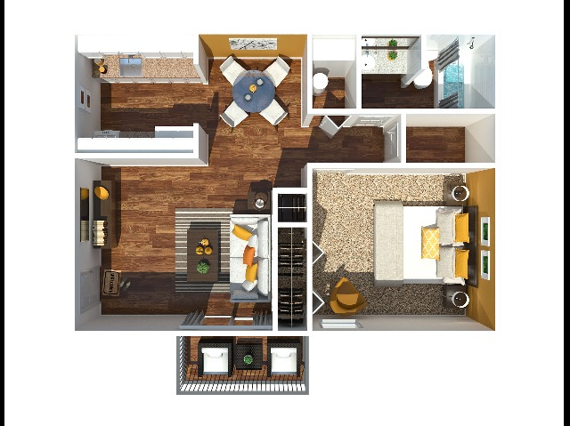 1 Bedroom 705