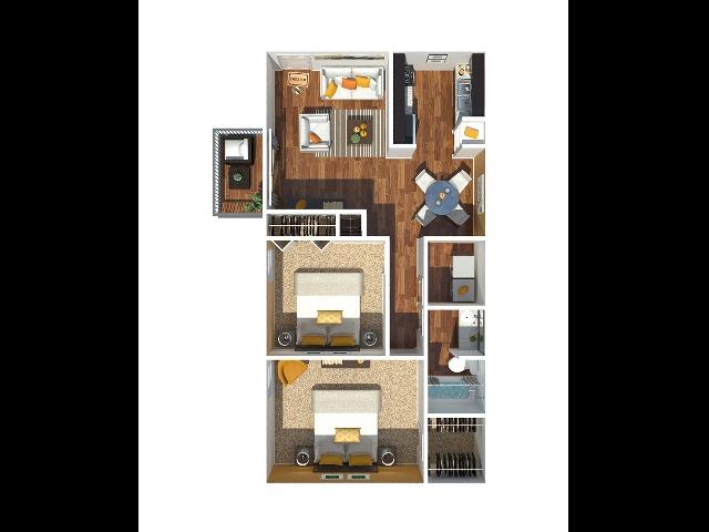 2 Bedroom 1132