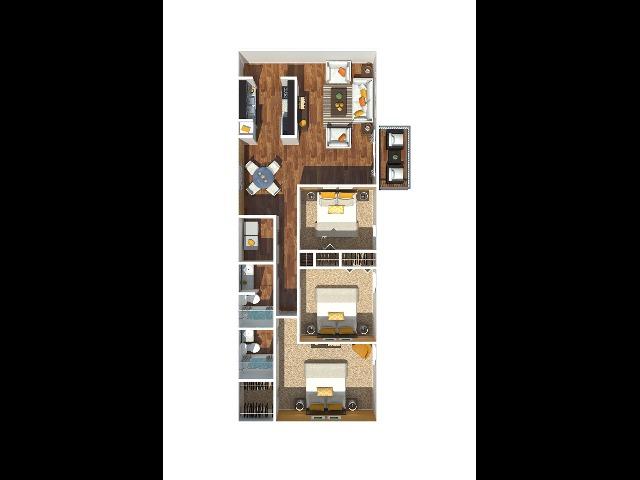 3 Bedroom 1180