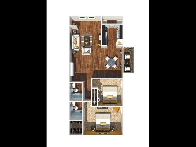 3 Bedroom 1260