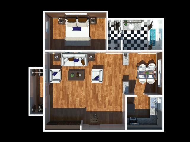 Wanda 1 bedroom
