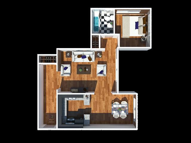 Stewart 1 Bedroom