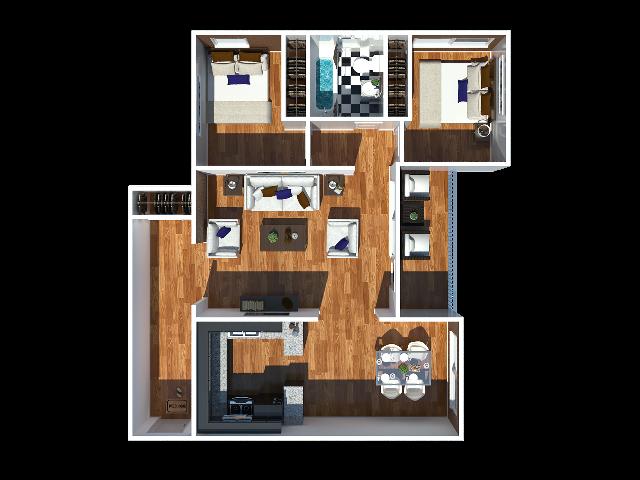 Stewart 2 bedroom