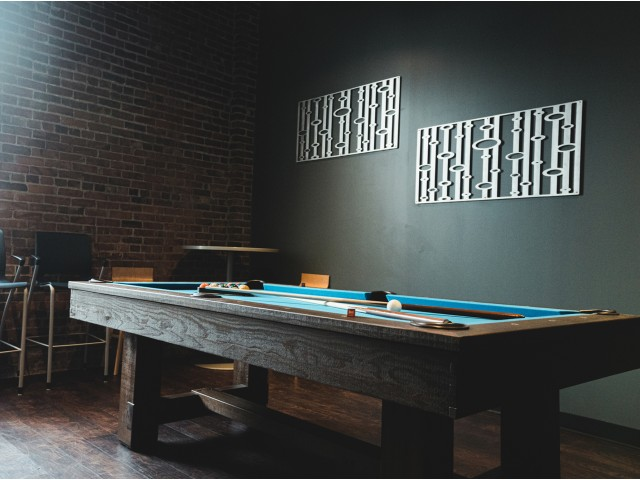 Pool Table & Shuffleboard
