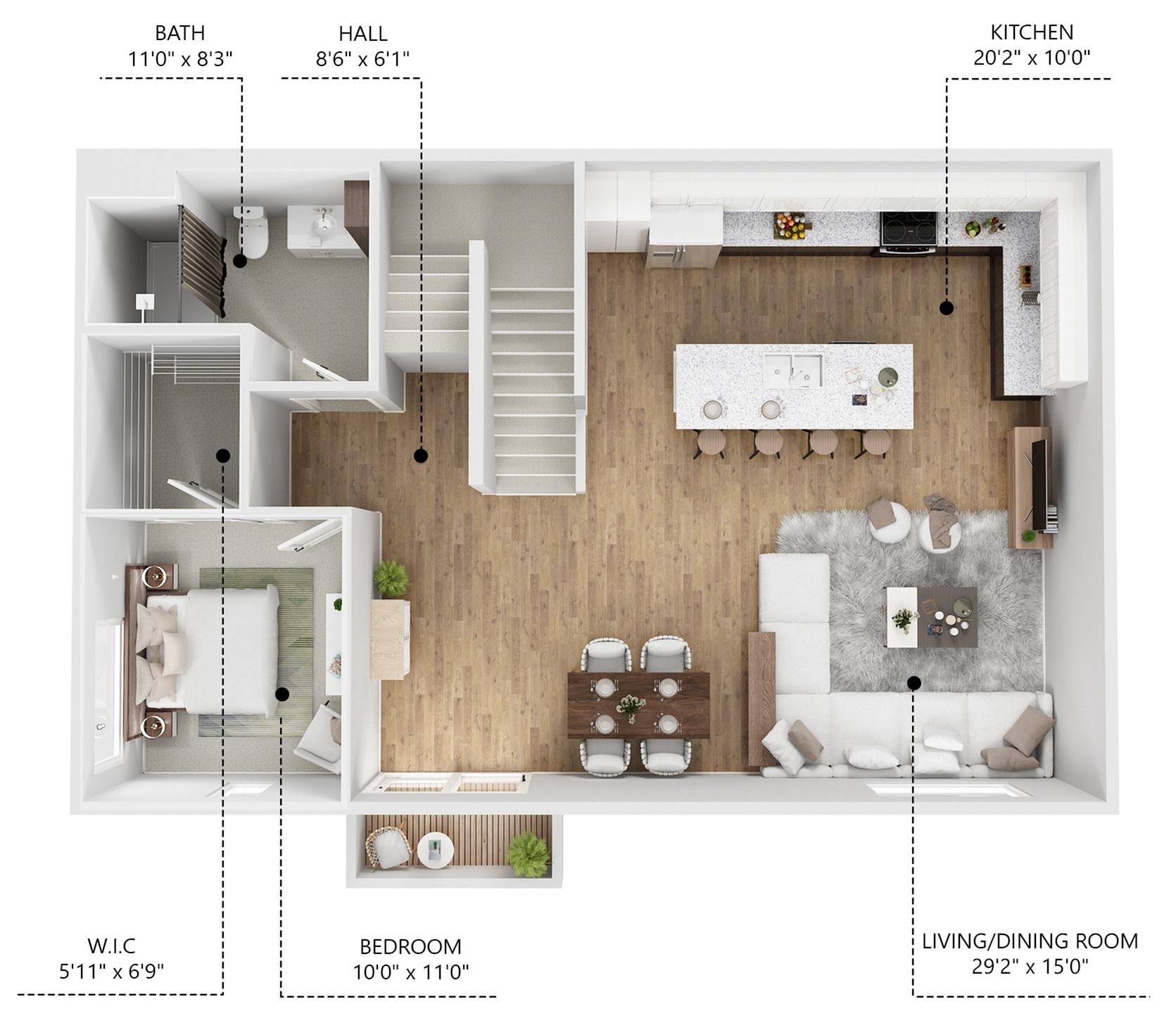 E1 - 2nd Floor
