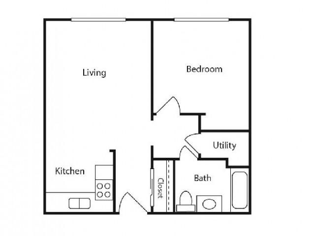 One Bedroom - One Bath