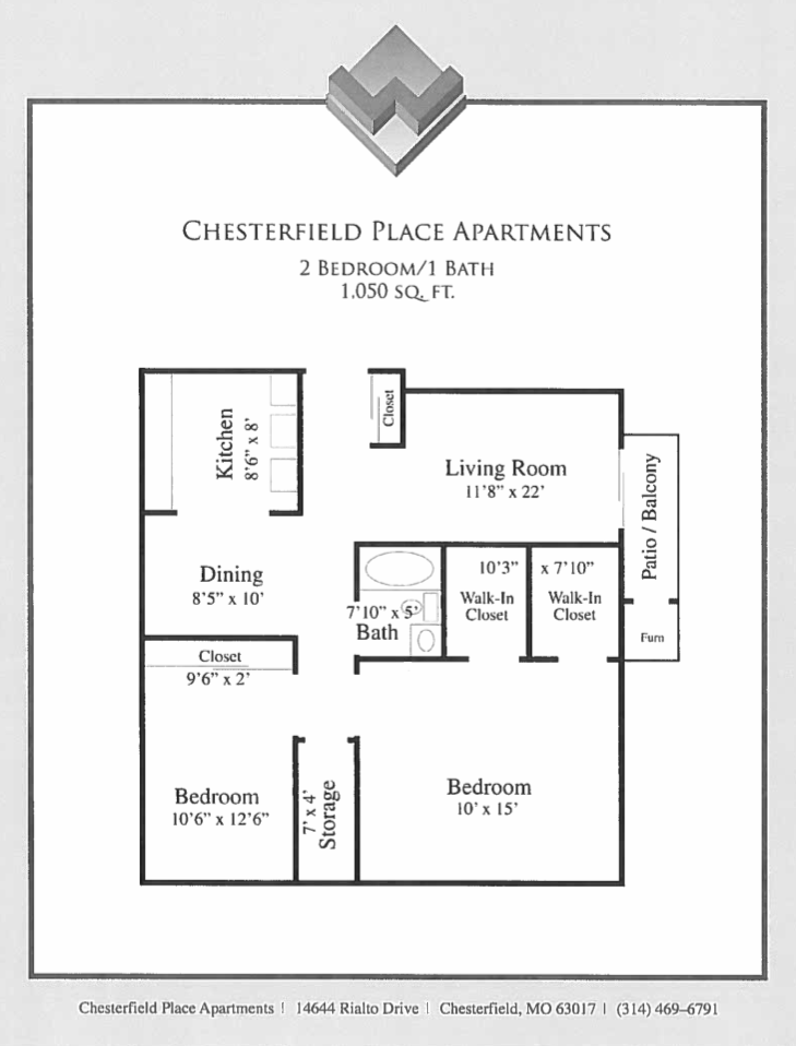 Two Bedroom Partial Upgrade
