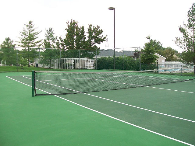 Image of Lighted Tennis Courts for Meadows at Elk Creek