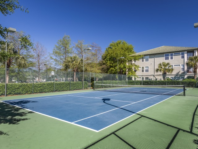 Image of Tennis and Basketball Courts for Legacy on the Bay