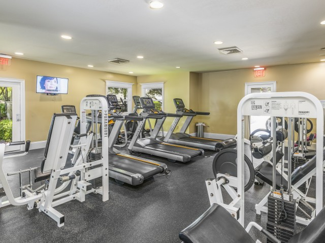 Image of 24-Hour Fitness Center with Cardio and Free Weights for Legacy on the Bay