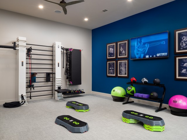 Image of 24-hour yoga and spin studio with Fitness On-Demand technology for Sapphire Bay