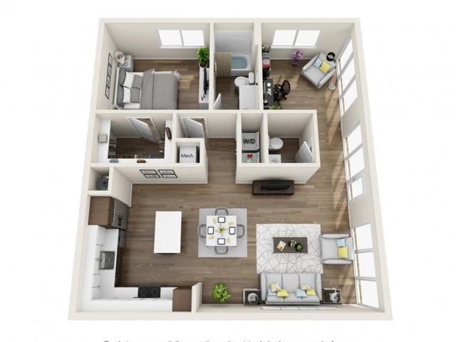 LWA | 1 bed 1 bath | The Tomscot | Scottsdale, AZ Apartments