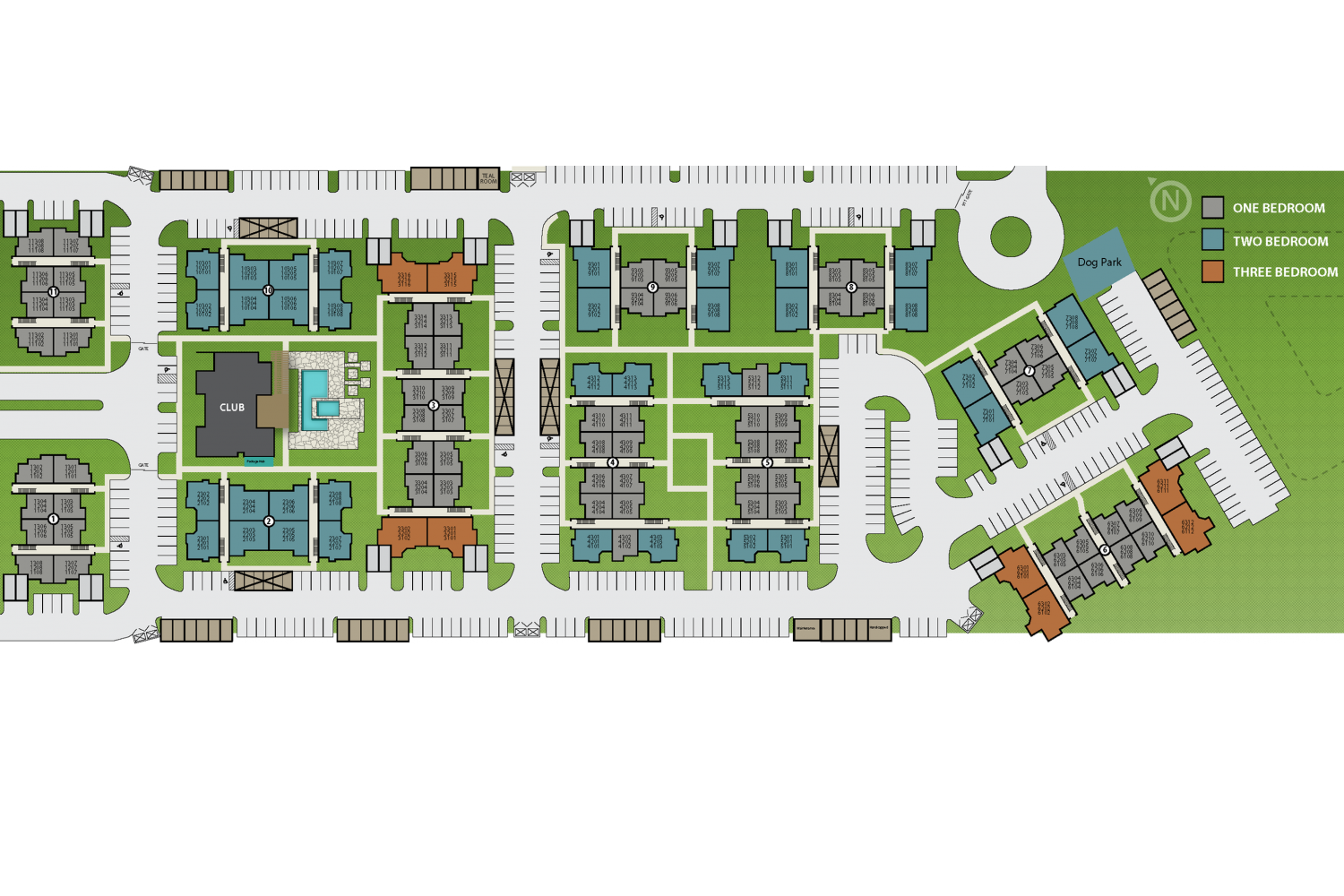 Image of Gated Community for The Grayson