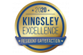 Kinglsey Customer Satisfaction Winner Logo