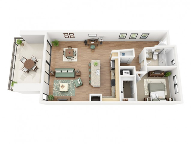 Chablis Floor Plan