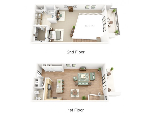 Bordeaux Loft Floor Plan