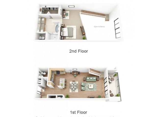 Chardonnay Loft Floor Plan