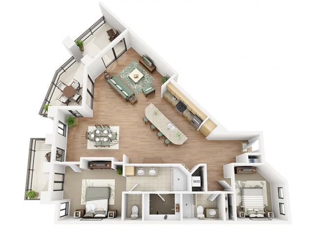 Shiraz Floor Plan