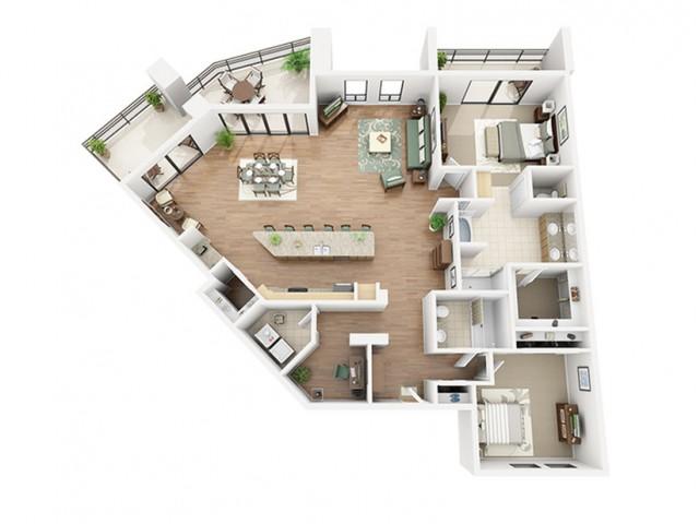 Zinfandel Floor Plan