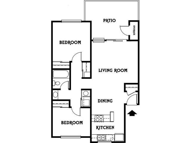2x1 A Floor Plan