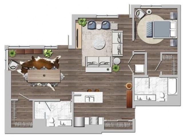 Lw1bD one bedroom one bathroom