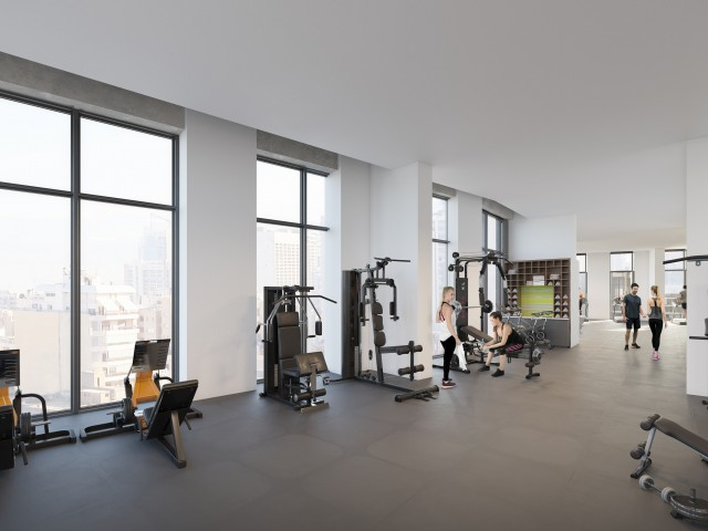a state-of-the-art fitness center