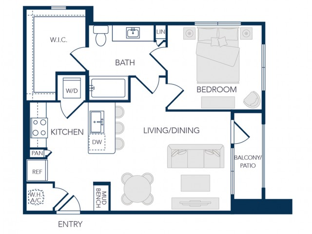The Rosemary Apartments- A0 Floor Plan