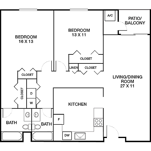 Vantage Pointe - Fitzgerald/Hawthrone Floor Plan