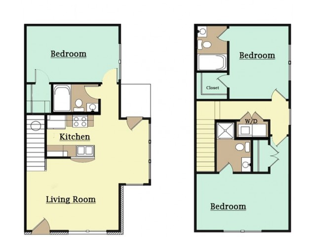 2 Bed Apartments Check Availability Anderson Homes For Rent
