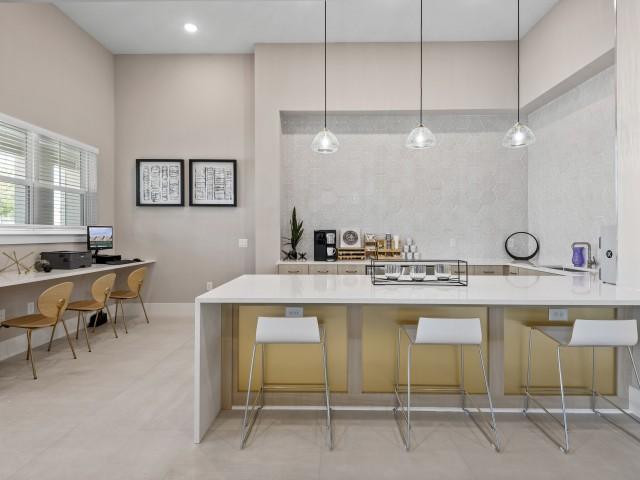 Coffee Bar | Verso Luxury Apartments