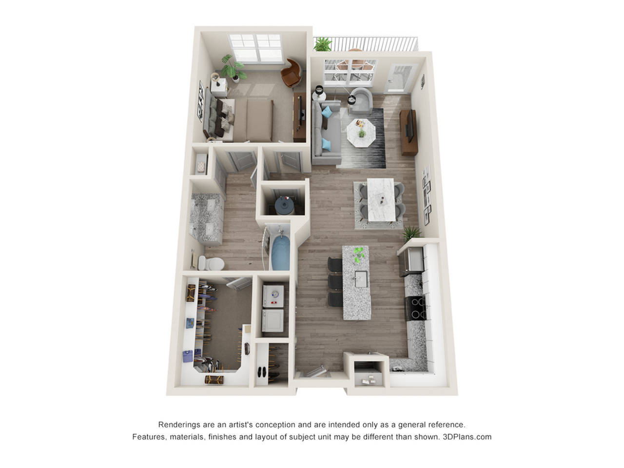 Verge Luxury Flats | Near Floor Plan