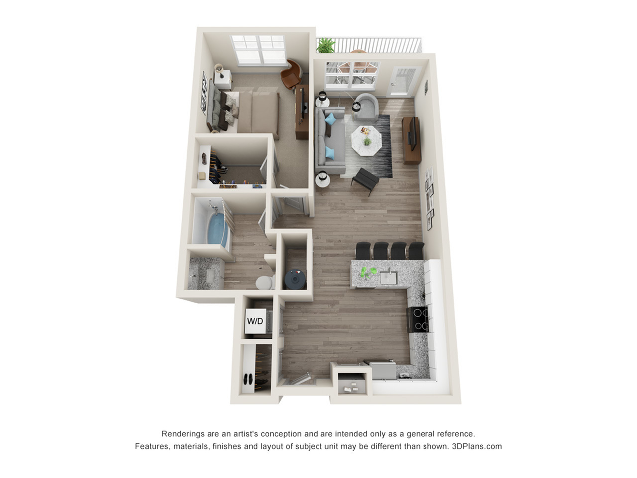 Verge Luxury Flats | Next Floor Plan