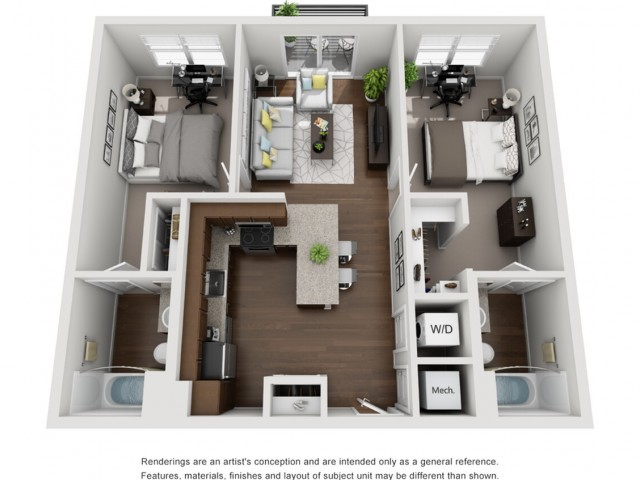 B1 | 2 Bedroom