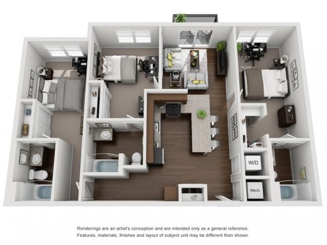 C1 | 3 Bedroom