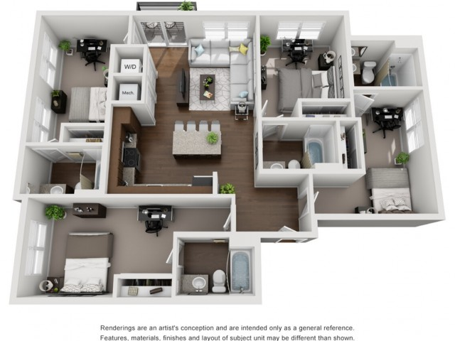 D1 | 4 Bedroom