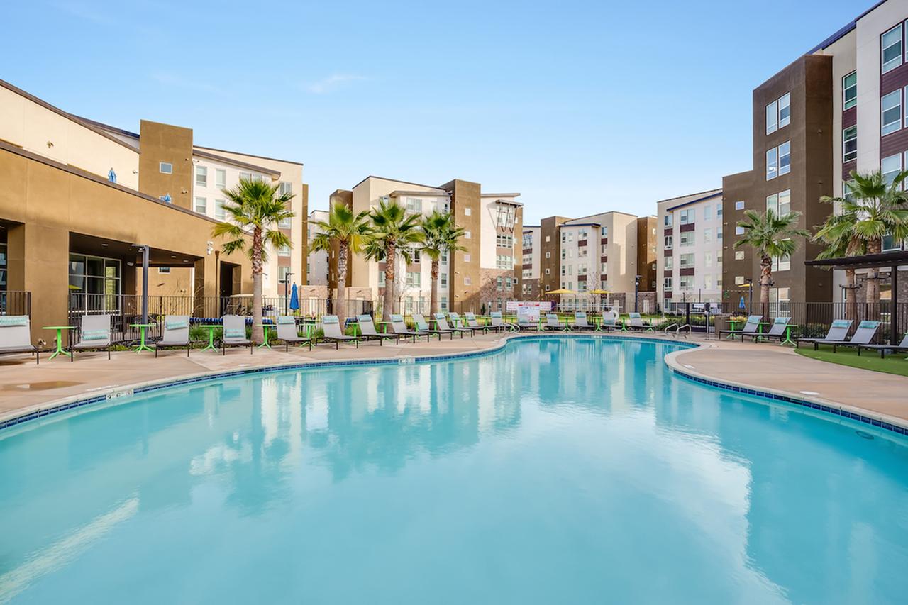 Resort Style Pool with Jumbo-Tron