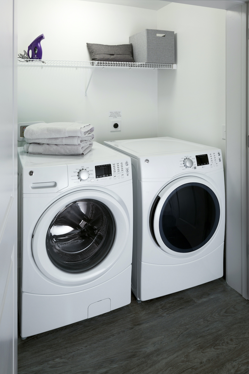 Image of Full Size Washer & Dryer in Unit for The Verge