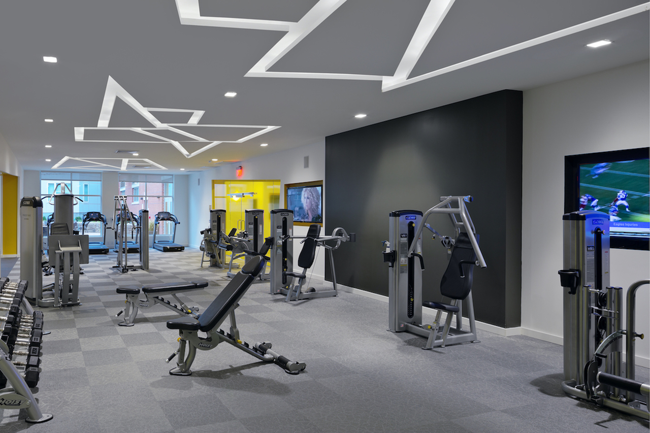 Image of 24/7 Fitness Center & Yoga/Aerobics/Dance Studio for The Verge