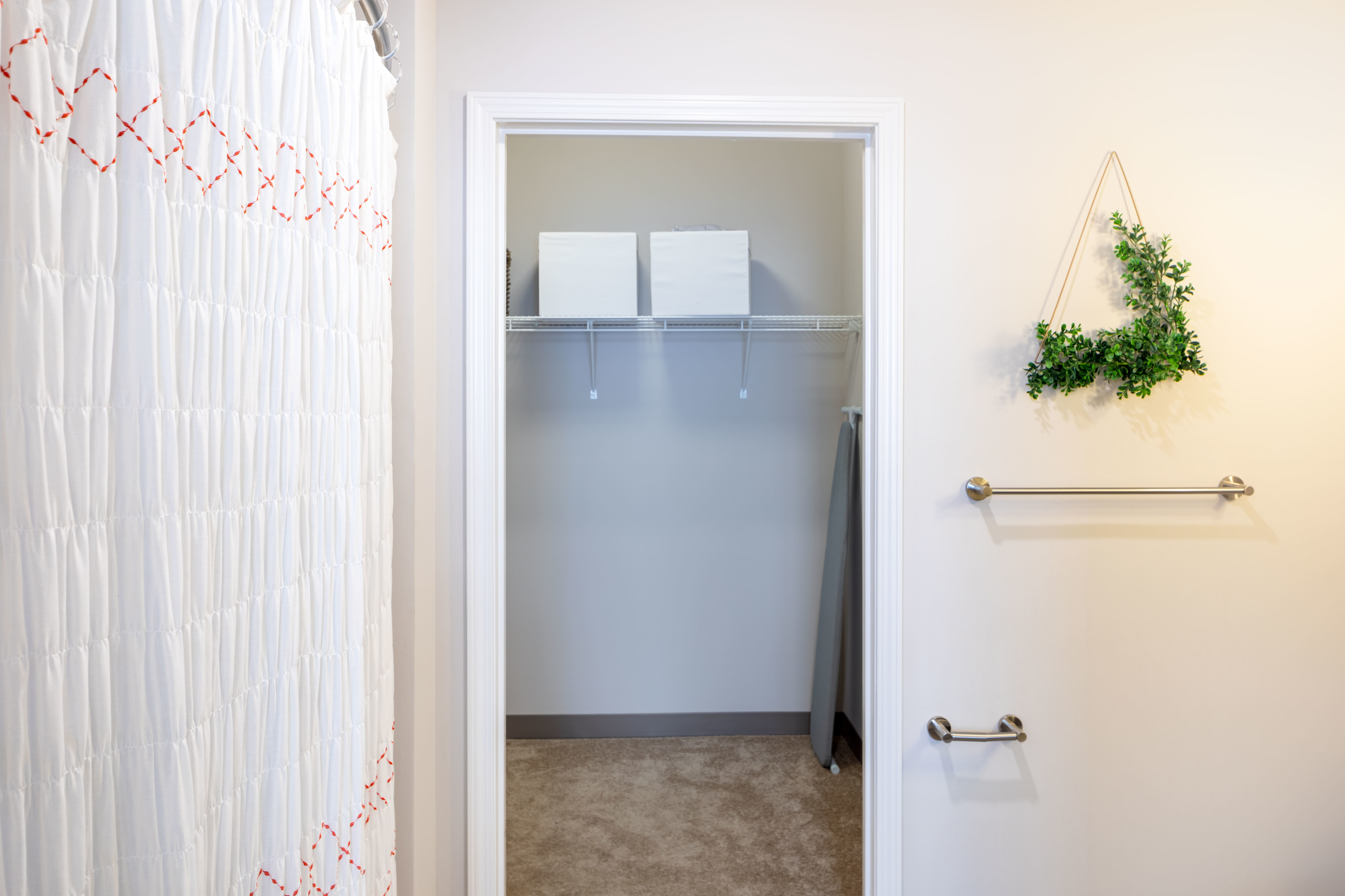 Walk-In Closets Available