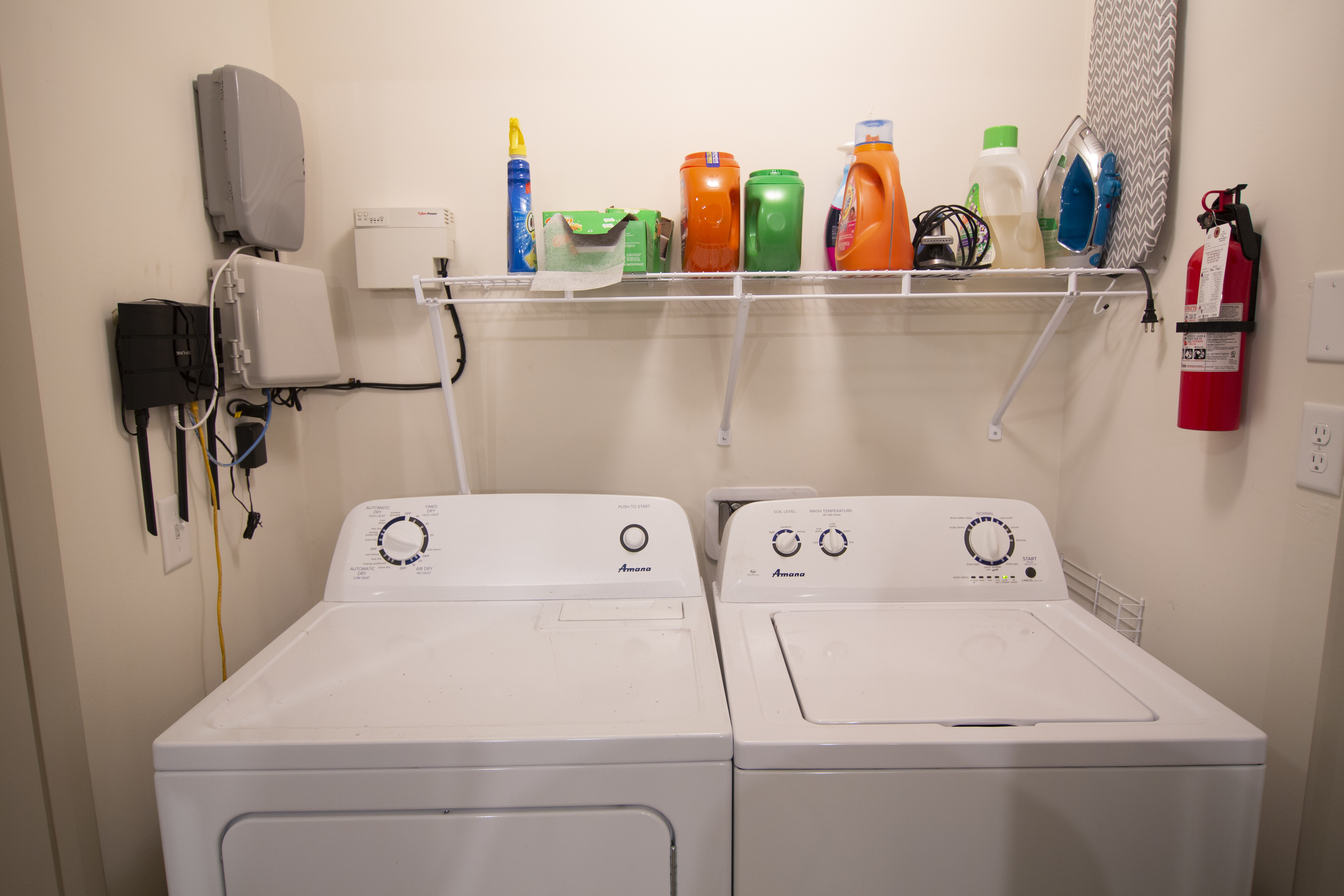 Image of Full Size Washer & Dryer in Unit for Balcony MSU