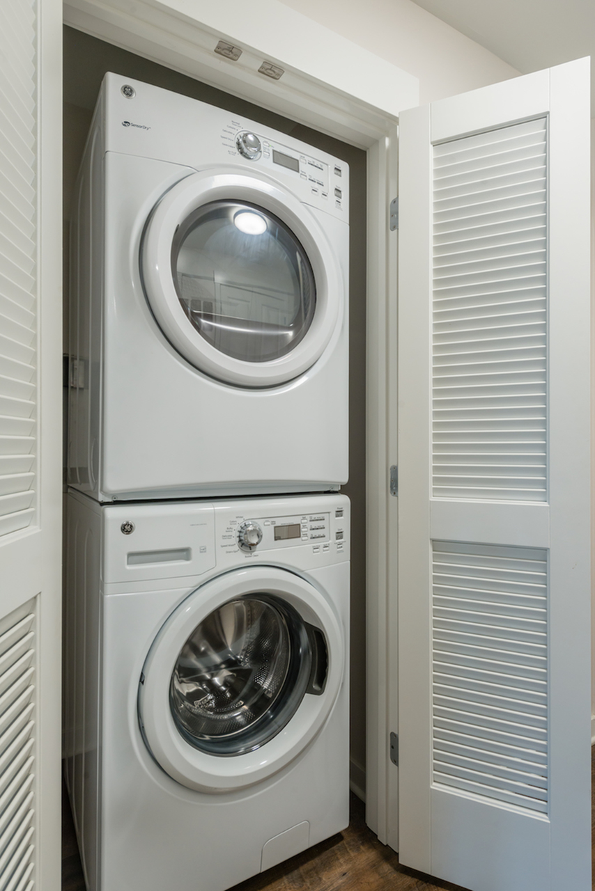 Image of Full Size Washer & Dryer in Unit for Latitude