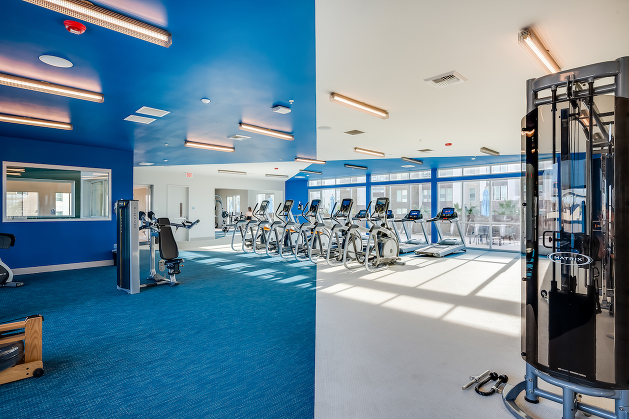 Image of 24/7 Fitness Center & Yoga/Aerobics/Dance Studio for The Crossings