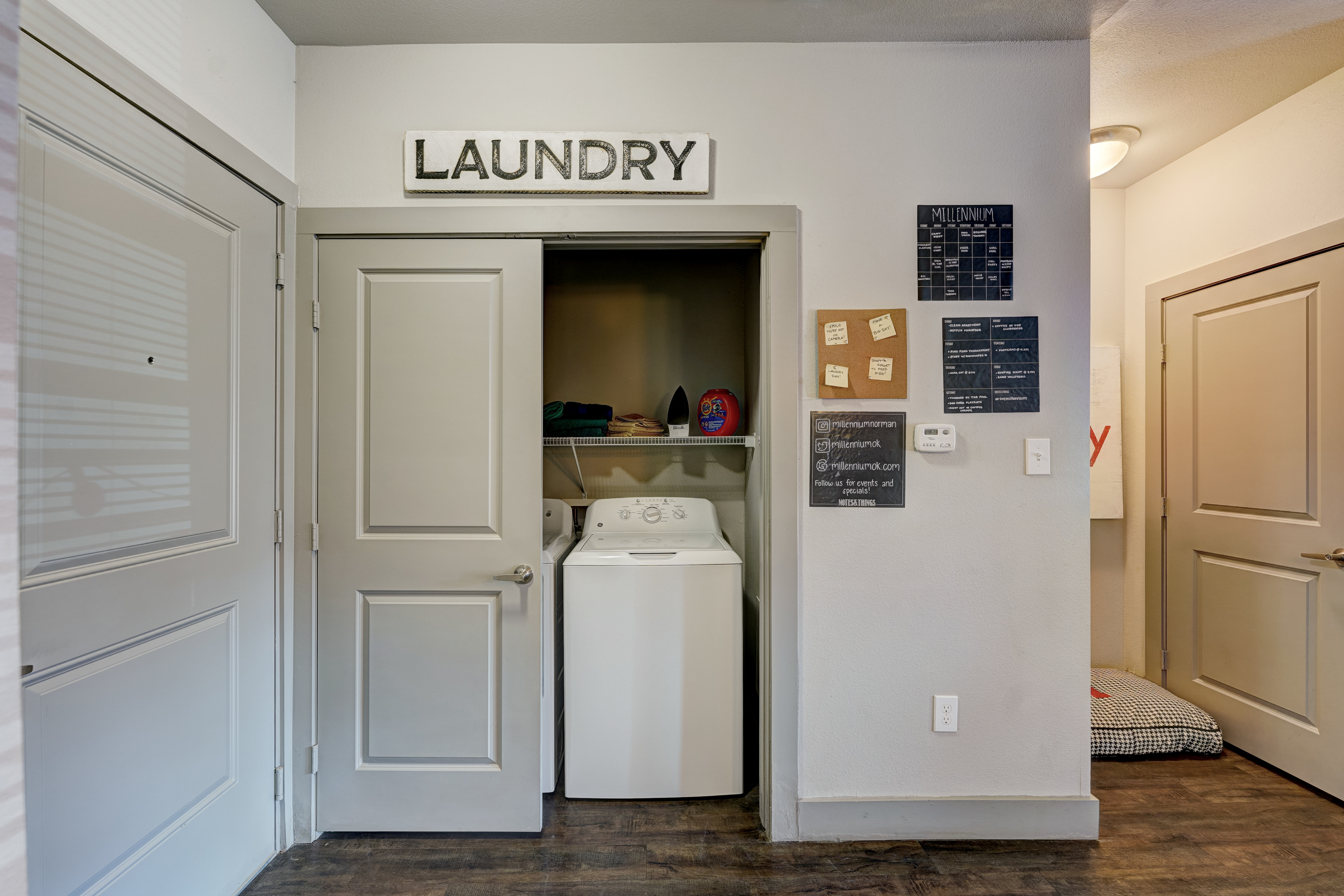 Washer & Dryer in Every Apartment