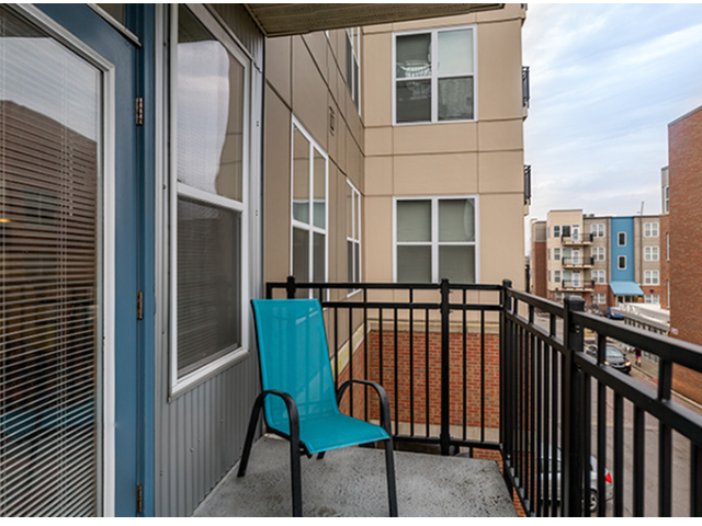 Private Patios & Balconies Available